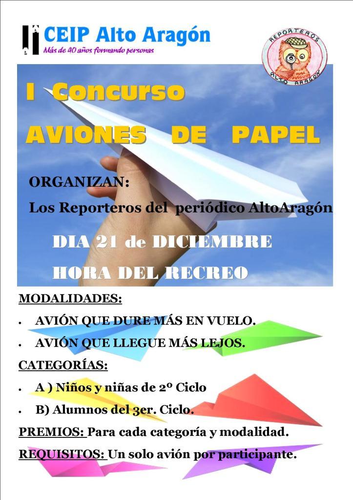 Concurso Aviones Papel