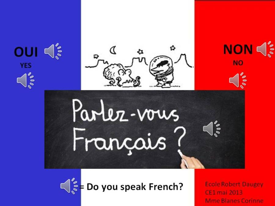 Savez-vous parler français