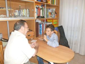 García Roldán entrevistado por Alejandro