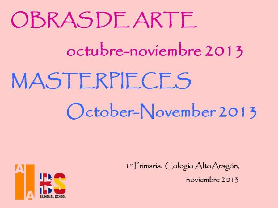 Masterpieces. first term.ppt 1