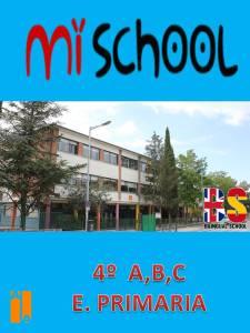 MY SCHOOL 4º E. P. 2014