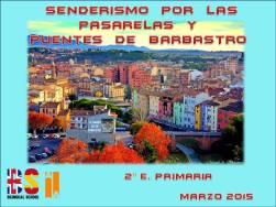PUENTES Y PASARELAS DE BARBASTRO 2015